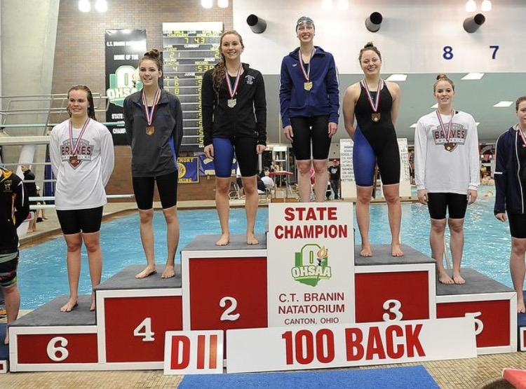 Swimmer+Abby+Stone+talks+about+being+a+state+champion