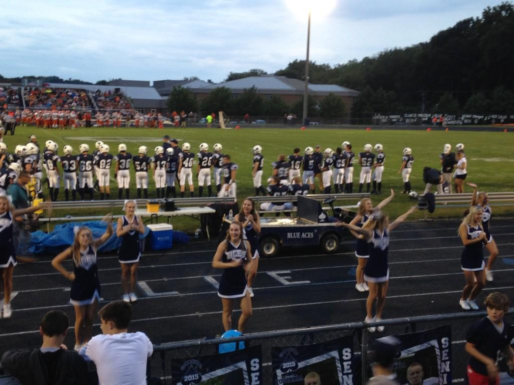 Cheerleading squad off to a great start