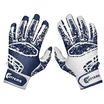 Football players strive for the perfect glove