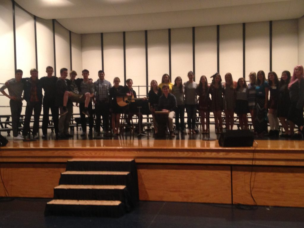Choir ends year on a high note
