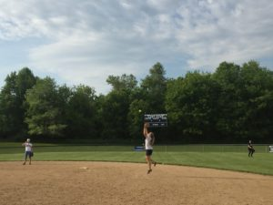 First year player Nikki Cox breaks records on the softball field