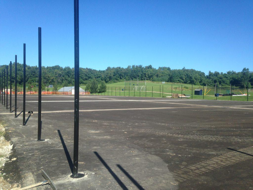 New tennis courts give team the advantage