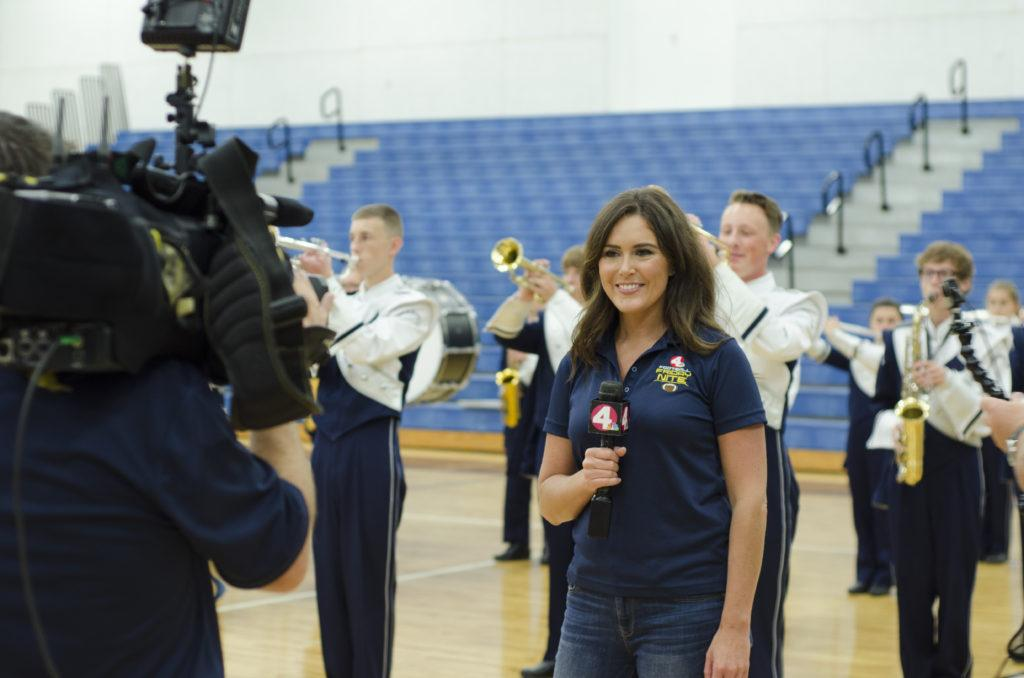 NBC4 broadcasts Homecoming excitement