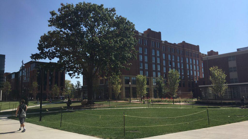 An armed suspect attacks Ohio State University students