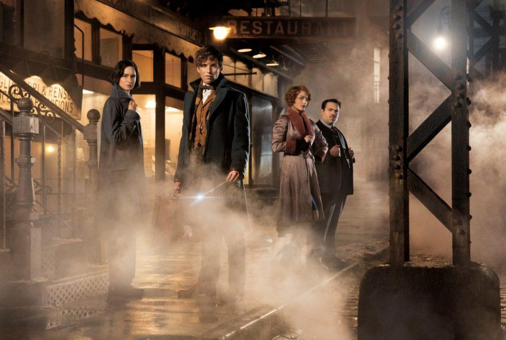 The wizarding world returns to theaters with Fantastic Beasts