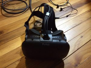 The Vive is a fantastic virtual reality headset that offers many enjoyable experiences (Carsten Savage/BluePrints Photo).