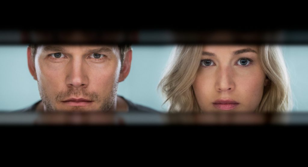 Passengers promises action and romance
