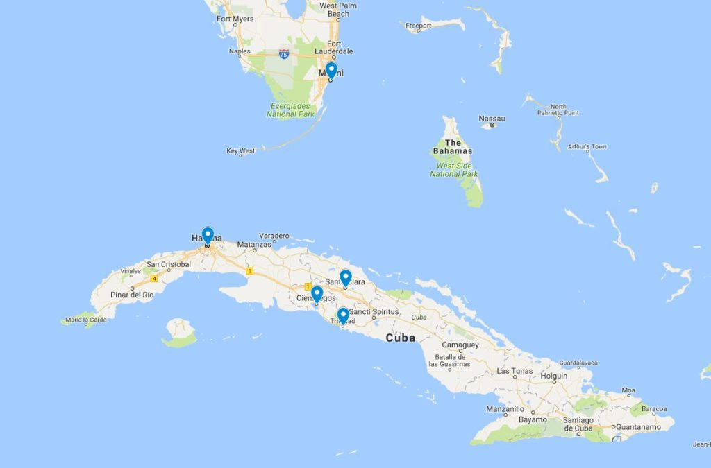 Students take off to Cuba for a week long adventure