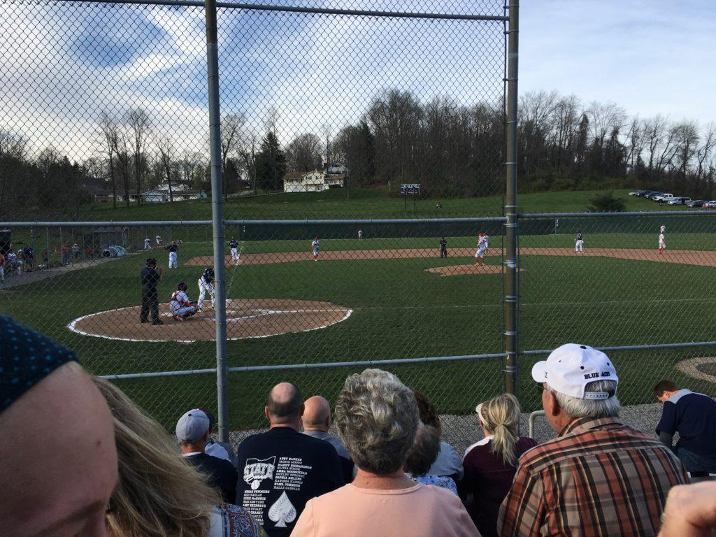 Baseball team catches fire after early struggles