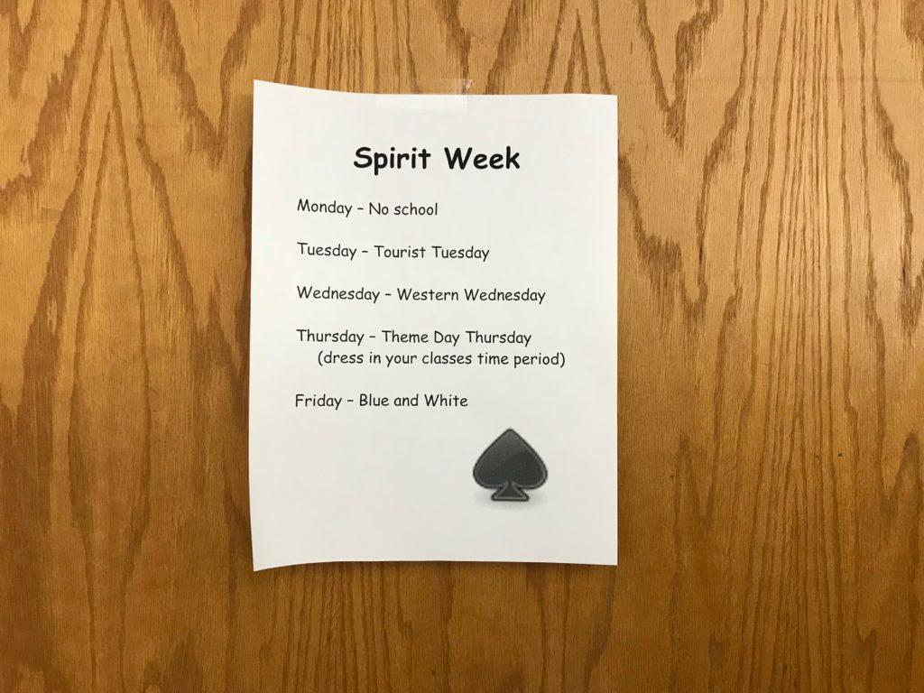 OPINION: Everyone should participate in Spirit Week