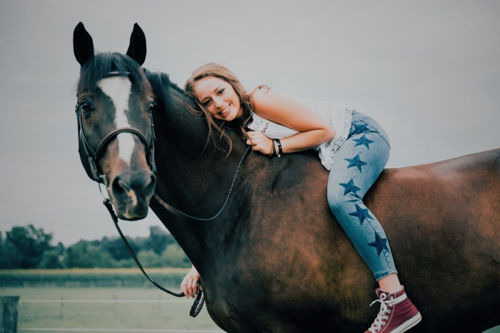 Flashback Friday: Rebecca Hirsh and her love for horses