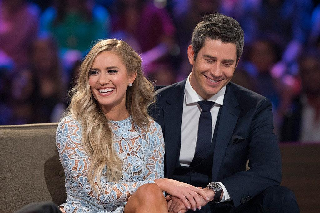 Arie with Lauren after the seasons finale and Aries big break up.