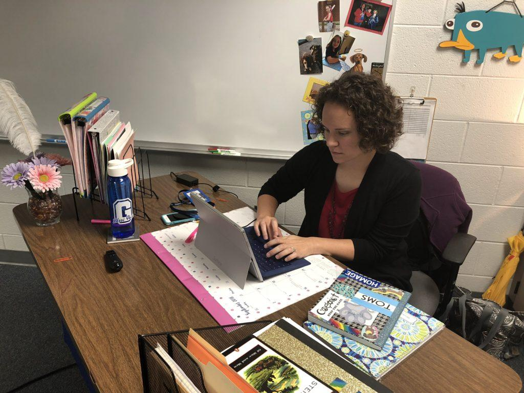 Mrs. Fortner is one of the four new staff members at GHS this year (Photo courtesy of Andy Hoben)