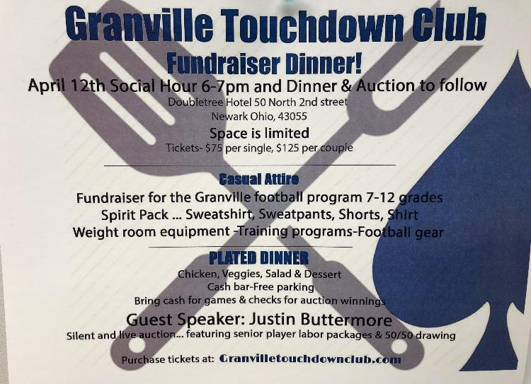 Parents hope to raise thousands for football at fundraiser dinner