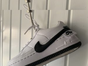 Nike Air Force shoe, as of late, a more common shoe within fashion. (Faith Blankemeyer/BluePrints)