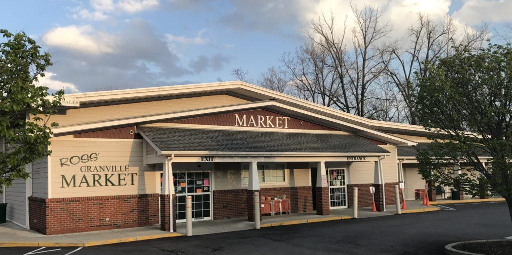 The outside of Ross Granville Market in late afternoon. (Photo Courtesy: Blueprints)