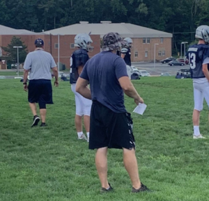 Football coach Wes Schroeder starts his first year strong