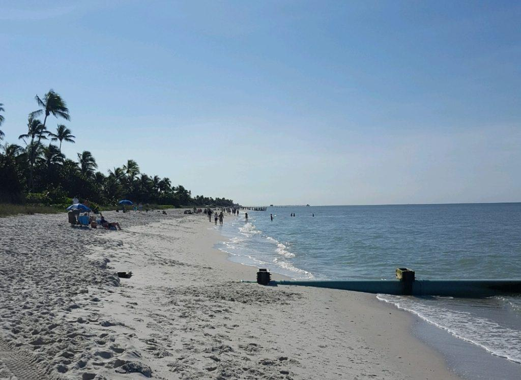 A sunny beach that is just welcoming for all craving a vacation. Little do many know that this location could potentially be crawling with COVID-19 Photo Credit: Steve Rivers