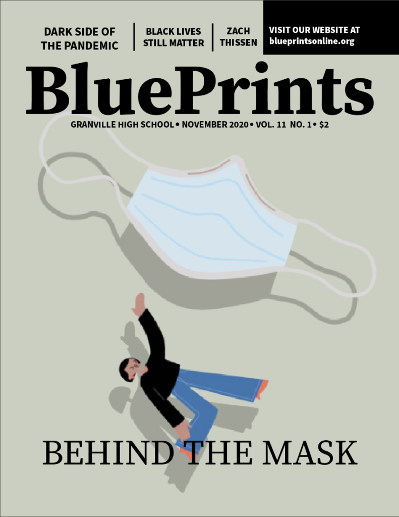 BluePrints first issue of the 2020-2021 school year.