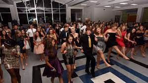 A picture from Granvilles Homecoming in 2016, when students got to have a normal dance